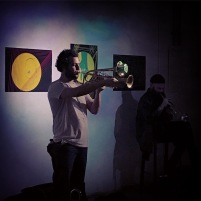 with Don Stavrinos at Chimeres Space, Athens